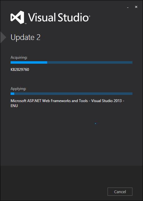 Visual Studio 2013 Update 2