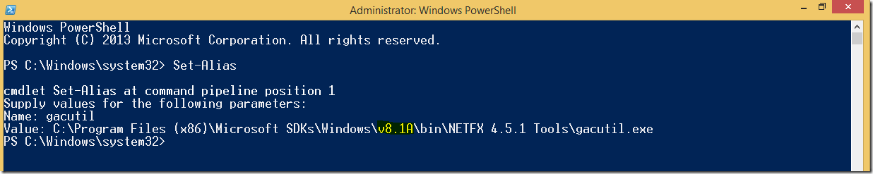 Set_Alias_in_powershell_for_gacutil