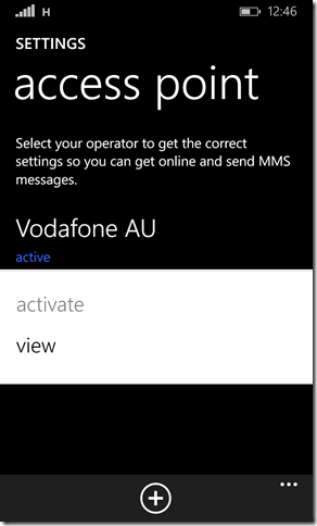 Windows Phone not able to receive MMS messages aka Get media