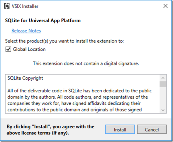 Confirm_SQLite_UWP_Extension_Installation